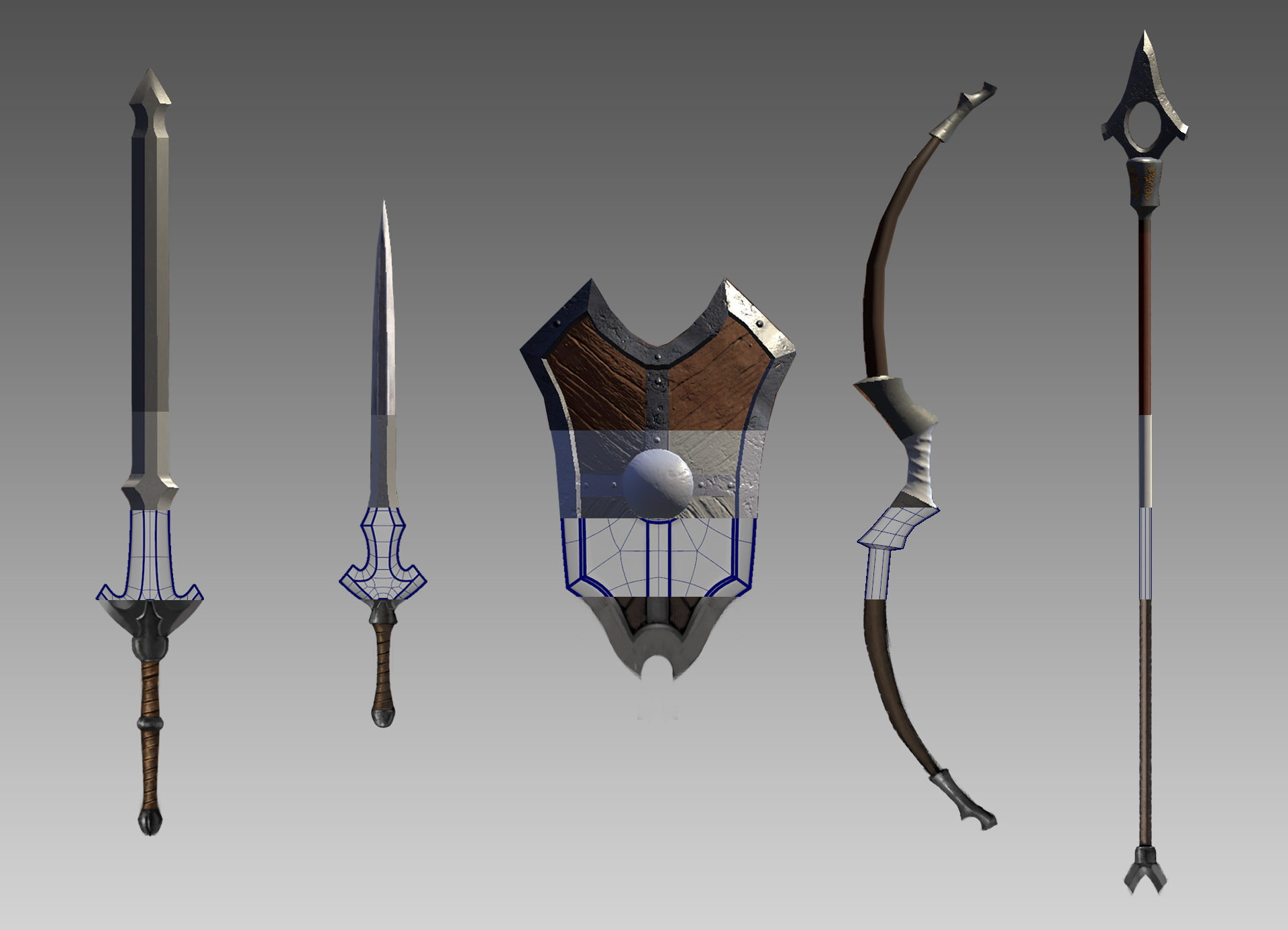 Weapon Concept To Completed